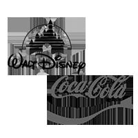 coke disney logo
