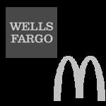 Wells Fargo McDonald's logo